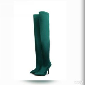 wide selection of colours and designs enjoy free shipping many choices of **LAST 7.5** Envy thigh high boot (emerald green) Boutique